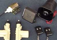 Power Door Lock Kits, Keyless Entry, Automotive Alarm Systems, Trunk Release Kits and Door Poppers